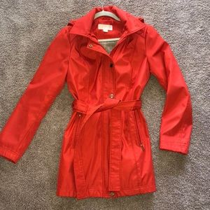Michael Kors coral red fall/spring jacket